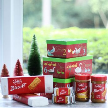 Biscoff Holiday Gift Tower