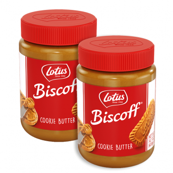 Biscoff Cookie Butter 2 Pack