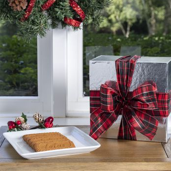 Biscoff Holiday Box with Bow
